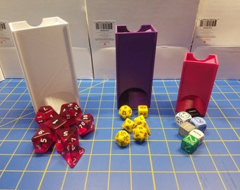 New Version - Dice Tower - 3D Printed