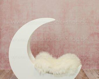 Digital background newborn composing, moon, instant download