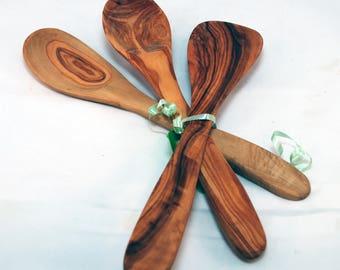 Olivewood Vintage kitchen spoons