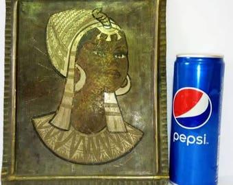 Vintage Egyptian art painting