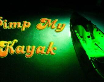 Pimp my Kayak (Green)