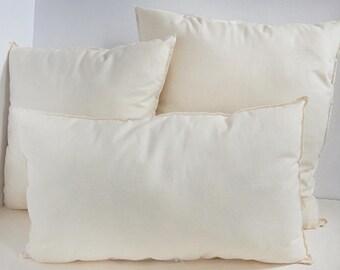 12x20 Pillow Insert-Non Allergenic Pillow Insert-Polyester Fiber Pillow Insert