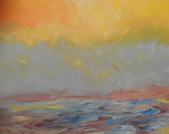 The Sea as the Sun Dies