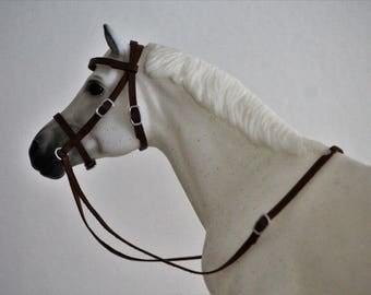 Breyer leather bridle
