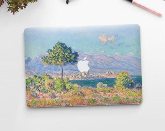 "Claude Monet, ""View of Antibes"". Macbook Pro 15 cover, Macbook Pro 13 cover, Macbook 12 cover. Macbook Pro cover. Macbook Air cover."