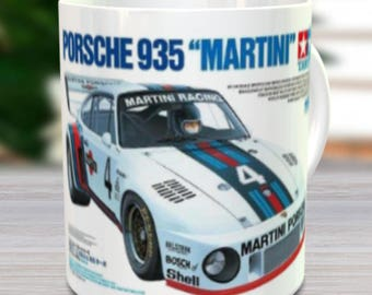 Martini RC Coffee Mug with optional Keychain, Vintage mug, gift for hobby lover, RC Model Coffee Mug, Gift for Him, Radio Controlled Car