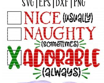 Christmas SVG cutting file little boy little girl Christmas shirt design cut file silhouette cameo cut file cricut Holiday girl Shirt SVG