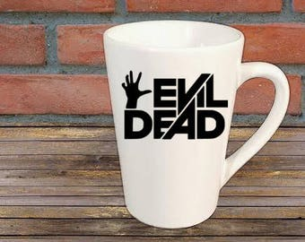 Evil Dead Horror Mug Coffee Cup Halloween Gift Home Decor Kitchen Bar Gift for Her Him Any Color Custom Merch Massacre