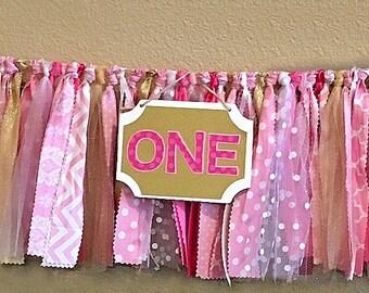 High Chair Banner (Pink)