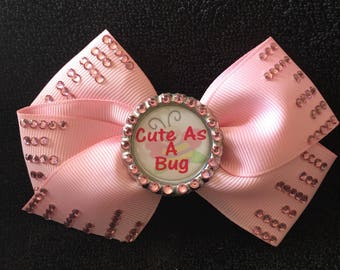 Cute As A Bug Hair Bow