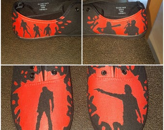 Walking Dead Inspired Shoes