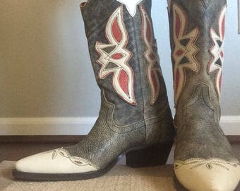 Nine West Vintage Cowboy Boots