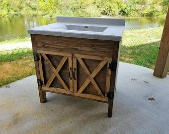 vanity etsy. Black Bedroom Furniture Sets. Home Design Ideas