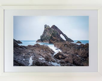 Fine art photography, rock, sea, Scotland, premium quality,