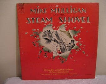 mike mulligan and his steam shovel, lp (record)