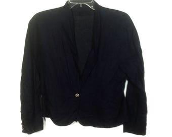 Vintage Marella Due By Max Mara Blazer Jacket Coat