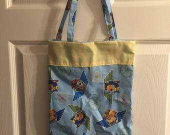 Paw Patrol Bag (Tote Bag, Book Bag, Trick-or-Treat Bag)