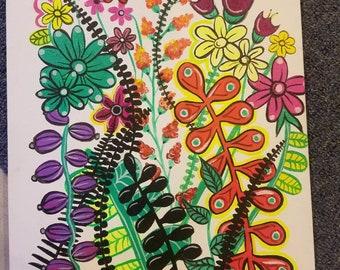 Pop Art Flowers