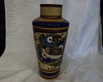 Vintage Mexican pottery vase