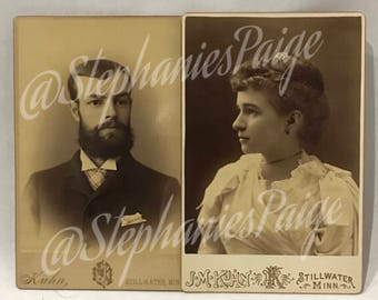 Antique 1891 | Wedding Photos | Sepia prints