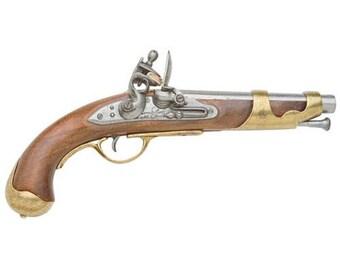 Colonial Lewis & Clark Flintlock Pistol Replica