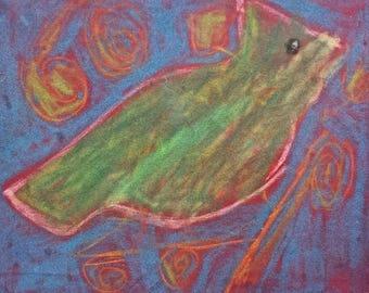 Bright Chalk Cardinal