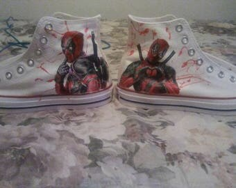 Custom Painted Shoes Converse