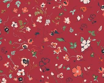 Joie de Clair Woodlands designed by AGF Studio for Art Gallery Fabrics, Boho Fabric, Floral Fabric