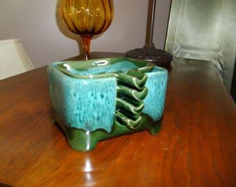 Ceramique de Beauce/Vintage/Ashtray/Cigarette Holder/Gift