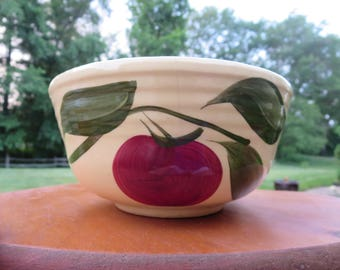 Watt Pottery Apple Design #6 Bowl Hard to Find