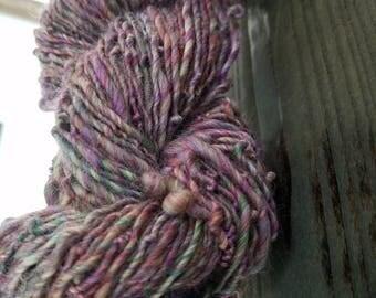 """Handspun yarn - """"Ametrine"""""""