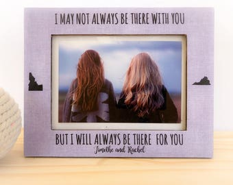 Soul Sister Frame Personalized Best friend Frame Long Distance Friendship Frame Sorority Sisters Gift Soul Sister Gift