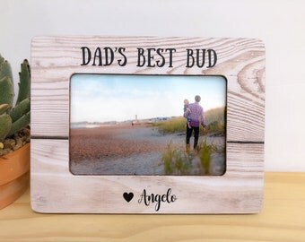 Dad Gift Frame Son and Dad Picture Frame Father's Day Gift Personalized Picture Frame Dad Father GIFT Father Son Picture Frame Father's Day
