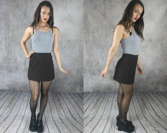 Mini skirt / Miniskirt / Sexy Mini skirt / Brown Skirt