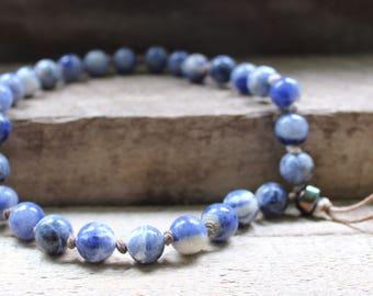 Worry Beads, Sodalite Stone Beads