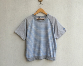 Vintage 90's Asics Stripe Tshirt
