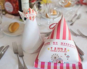 Surprise bag, kids wedding and holiday surprise Berlingot or witness