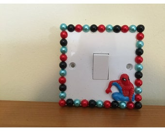 SALE ITEM Spider-Man light switch