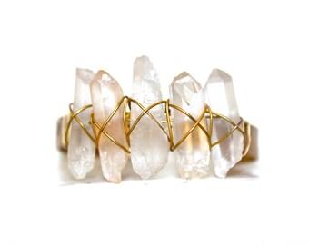 Healing Crystal Cuff