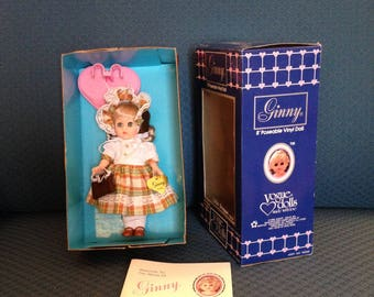 Little Shopper Ginny Doll, Mint Condition