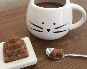 Cinnamon Sugar Cubes for Coffee, Tea, Hot Chocolate, Tea Party, High Tea, Tea Gifts, Coffee Gifts, Weddings, Bridal Shower, and Birthdays