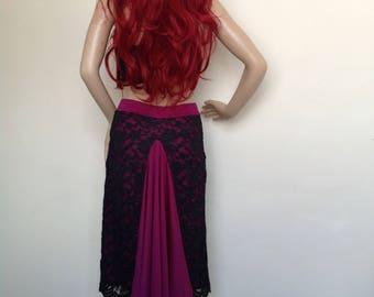 Argentin tango skirt in medium size