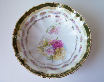 Vintage porcelain fruit bowl. Germany(#EV150)