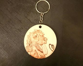 Custom Pet Keyrings (Personalised)