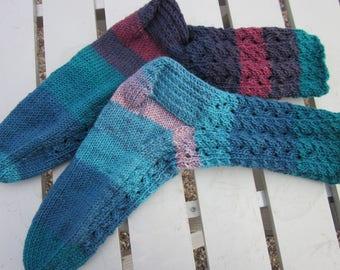 Seduction Socks Hand Knit for Women
