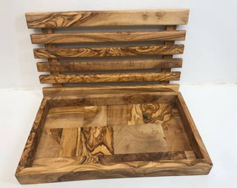Olive Wood Bread Slicing Board