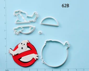 Ghostbusters  Fondant Cutter Ghostbusters  Cookie Cutter Ghostbusters  Gift Ghostbusters  Party Ghostbusters  Birthday Gift