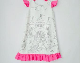Coloring Dress for Girls - Royal Princess