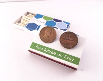 My two cents | Penny Earrings