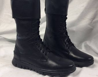 CW Arrow boots size 7-13UK Oliver Queen Prop